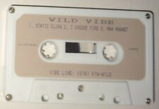 WILD VIBE - Rare Demo Cassette - 1991 : Static Cling, Choose Fire, Man Magnet