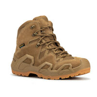ROCKROOSTER Mens Military Tactical Work Boots Combat Outdoor Hiking Boots Desert