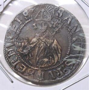 1513 Austria Salzburg Batzen Silver Coin 353I
