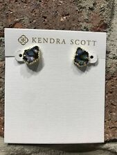 💖🌟NWT Kendra Scott Tessa Small Stud Earrings in Abalone Shell/Gold🌟💖