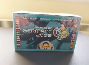 Original Panini Germany 2006 World Cup Sealed Box Of Stickers