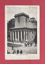 Boston Massachusetts King'S Chapel Antique Old Undivided Postcard C. 1901-1907