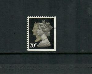 Great Britain Used MH194 Corner Booklet Single 20p  Free Ship for USA