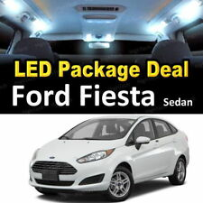 For 2011 2012 2013 Ford Fiesta Sedan LED Lights Interior Package Kit WHITE 8PCS
