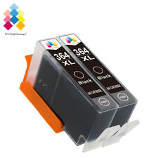 2 Black Ink Cartridge 364XL PP® fit for Photosmart B8553 C5380 C5383 PRINTER