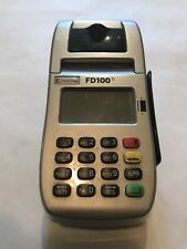 First Data Fd100ti Credit Card Machine Used Tested And Working