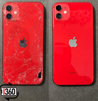 iPhone 8/ 8+ / X / XS / XR / XS Max 11 pro max Cracked Back Glass Repair Service
