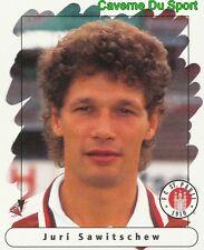 169 JURI SAWITSCHEW GERMANY FC ST. PAULI STICKER FUSSBALL 1996 PANINI