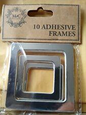 M&C Boutique Silver Adhesive Frames