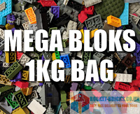 ⭐️MEGA BLOKS 1KG BAG - Bricks, Car Parts - clean & genuine - bulk lot⭐️