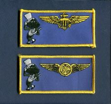 HMM-764 MOONLIGHTERS USMC MARINE CORPS CH-46 Helicopter Squadron Name Patch Set