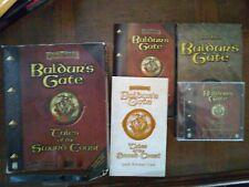 Baldur's Gate Tales of the Sword Coast (PC Game) Boxed