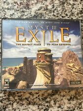 Windows PC or Mac CD-Rom Video Game - Myst III Exile - Ubi Soft Free Shipping