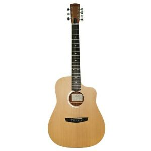 New Russian / Ukrainian Seven 7 String Guitar, Acoustic, Сutaway, Sand, 991