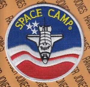 "NASA Space Camp Flight Suit 4"" patch"