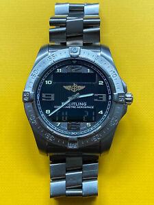 Breitling Aerospace Avantage Titanium Quartz Watch, 2013, E79362 BF530438