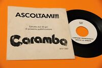 """7 """" 45 Listen to Me IN Preview From ' LP Caramba Promo Original EX+ Rarest"""