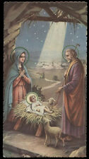 "santino-holy card""""ediz. NB*  n.6073 NATIVITA'"