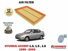 FOR HYUNDAI ACCENT 1.3 1.5 1.6 1999-2006 NEW AIR FILTER