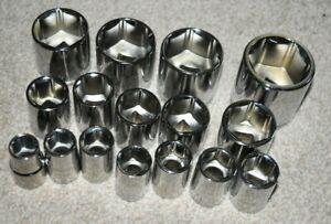 "Halfords Advanced 1/2"" Drive 6 Point Single Socket 13-36mm Professional Tools"