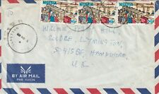 Nigeria cover sent to Boldre,Lymington,Hampshire UK