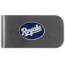 MLB Kansas City Royals Bottle Opener Money Clip Metal Cash Holder Emblem