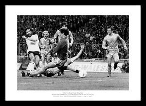 Tottenham Hotspur 1981 FA Cup Final  Ricky Villa Goal Photo Memorabilia (566)