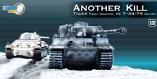"1/72 Dragon Armor ""Another Kill"" Tiger I vs T-34/76 Winter diorama 60222"
