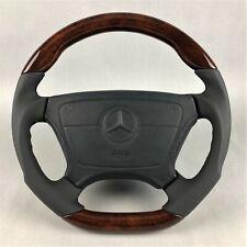 Mercedes AMG R129 W124 140 201 202 210 Holz Sport Lenkrad wood steering wheel