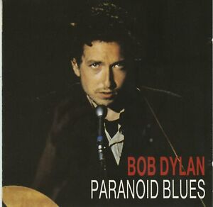 """Bob Dylan """"Paranoid Blues"""" Radio Shows Diamonds In Your Ear Lim. Edition 38/500"""