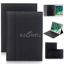 For iPad 6th Generation 9.7 2018 Removable Bluetooth Keyboard+Leather Case Cover