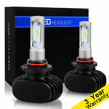 9005 HB3 PHILIPS CSP LED Headlight Bulb Kit 8000LM 50W 6500K White Hi-Low Beam