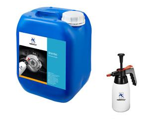 Normfest Bremsenreiniger Reiniger Entfetter 5L Cleaner Kanister + Sprühflasche