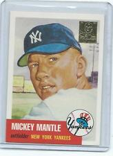 1996 Topps-Mickey Mantle 1953 Topps Commemorative-Yankees