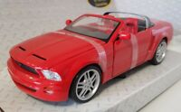 Maisto Ford Mustang GT Concept Convertible Red Special Edition 1:24 Scale 31970