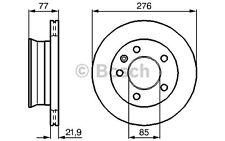 BOSCH Juego de 2 discos freno 276mm ventilado VOLKSWAGEN LT 0 986 478 849