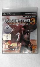 PS3 SONY PLAYSTATION 3 UNCHARTED 3 :L'INGANNO DI DRAKE - SONY -