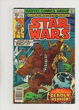 Star Wars #13 - Chewbacca & Luke Fight Cover! - (Grade 7.0) 1978