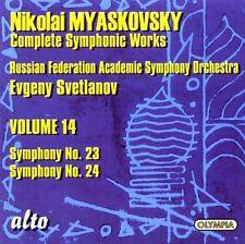 Evgeny Svetlanov - Complete Symphony Suite No. 23 in A minor Op. 56 [New CD]