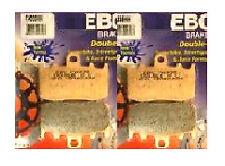 Un conjunto completo de Ebc Hh Delantera Pastillas De Freno Bmw K K1200 Gt 2003 A 2006