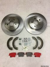 Rear Brakes Repair KIT Ceramic for Chrysler 300C 2005-2016 SOLID BRK/300C/003A