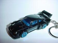 HOT 3D PORSCHE 934.5 Turbo RSR CUSTOM KEYCHAIN keyring key racing black finish