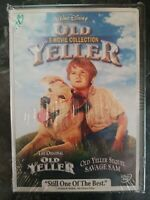 OLD YELLER and SAVAGE SAM Disney DVD SET NEW SEALED