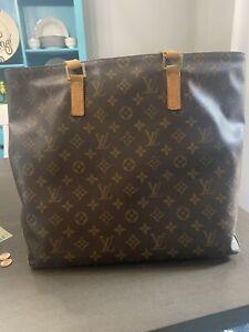 **Authentic Louis Vuitton Cabas Mezzo Tote**
