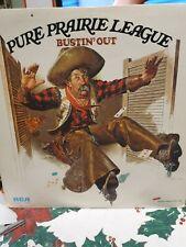 Vinyl 12 inch LP Record Album Pure Prairie League Bustin' Out 1972 excellent con