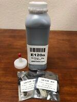 (200g) 12015SA Toner Refill for Lexmark E120, E120n Printer + 2 Chip