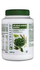 500 gm Amway NUTRILITE All Plant Protein Cholesterol free and Lactose free food