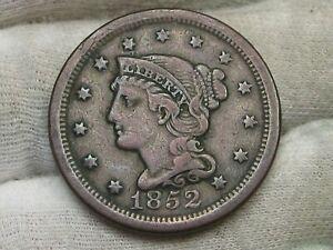 1852 Large Cent.  #9