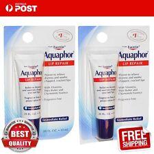 Aquaphor Lip Repair Immediate Relief Fragrance Free 10 ml x 2 tubes
