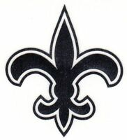 REFLECTIVE New Orleans Saints  sticker up to 12 inches RTIC fire helmet decal
